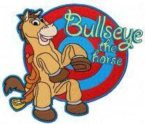 Bullseye the horse
