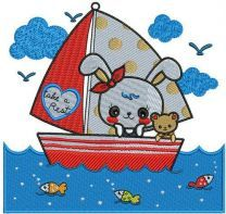 Bunny's boat trip