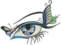 Butterflies in my eye