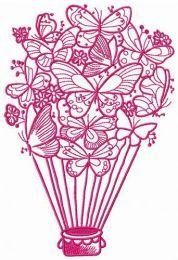 Butterfly hot air balloon 2
