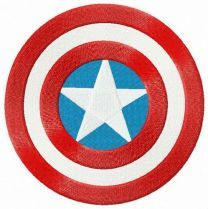 Captain America's round shield