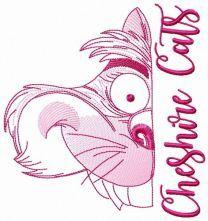 Cheshire cat muzzle sketch