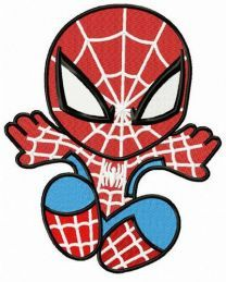Chibi Spiderman attacks