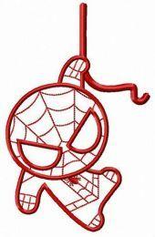 Chibi Spiderman watching you