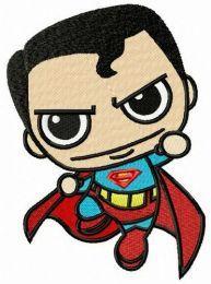 Chibi superman attacks