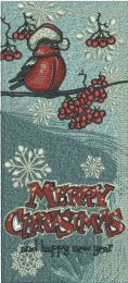 Christmas bookmark 5