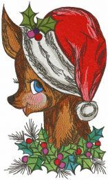 Christmas is near embroidery design