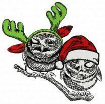 Christmas owls 5