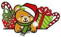 Christmas teddy bear 5