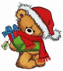 Christmas teddy bear 8