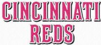 Cincinnati Reds Wordmark Logo