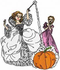 Fairy and Cinderella