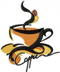 Coffee label 2