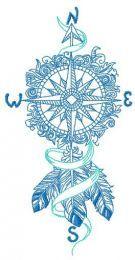 Compass dreamcatcher