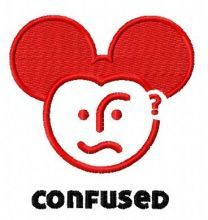 Confused Mickey