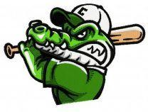 Crocodiles baseball mascot 2