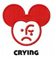 Crying Mickey