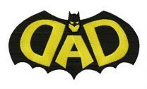 DAD Batman silhouette