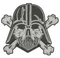 Darth Vader crossed bones