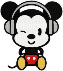 Mickey likes Music