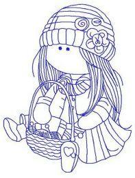 Doll knitting 2