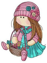 Doll knitting