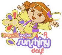 Dora sunshiny day