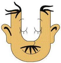 Dr. Seuss alphabet letter U