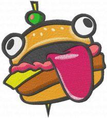 Durr Burger embroidery design