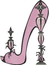 Extravagant high heels