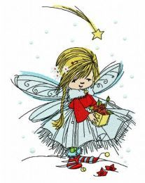Fairy collecting stars