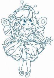 Fairy costume for little girl