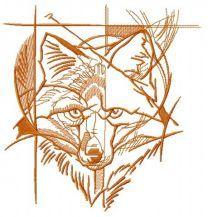 Fox street art sketch