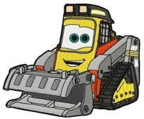 Fred the bulldozer