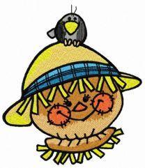 Friendly scarecrow 5