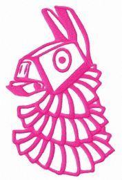 Funny pinata embroidery design