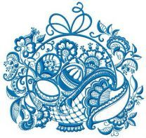 Ghzel basket machine embroidery design