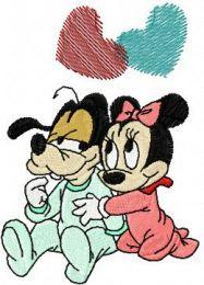 Goofy and Minnie we love..