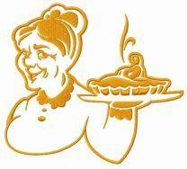 Granny's pear pie 3