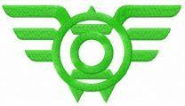 Green Lantern Wings logo