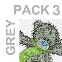 Grey pack 3 -10 designs