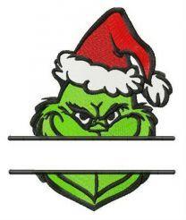 Grinch monogram