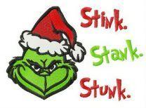 Grinch Stink, Stank, Stunk