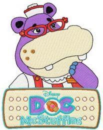 Hallie Hippo and logo