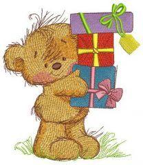 Happy birthday, teddy bear