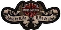 Harley Davidson logo Live to Ride