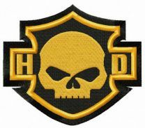 Harley-Davidson skull logo