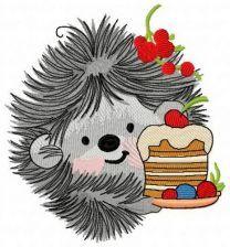Hedgehog's birthday 6