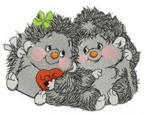 Hedgehog's Valentine's day