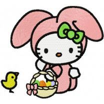 Hello Kitty Happy Easter